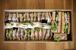 sandwich catering Newcomb